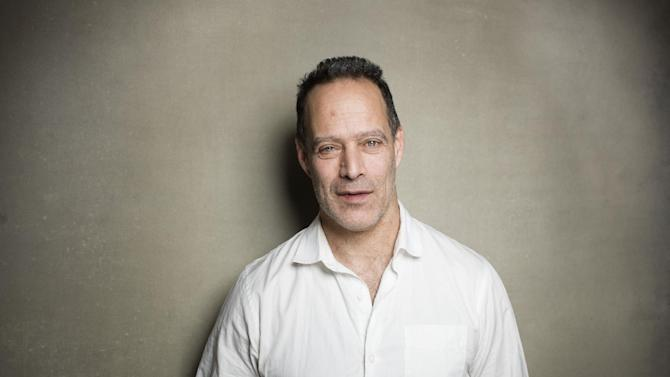 "Director Sebastian Junger from the film ""Which Way Is Front Line From Here"" poses for a portrait during the 2013 Sundance Film Festival on Sunday, Jan. 20, 2013 in Park City, Utah. (Photo by Victoria Will/Invision/AP Images)"