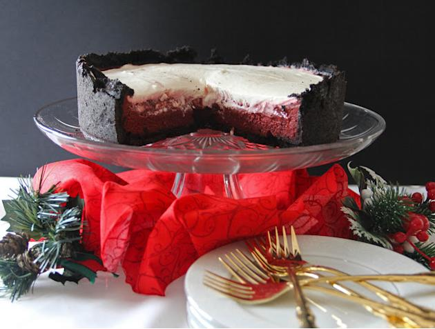 Red Velvet Mud Pie