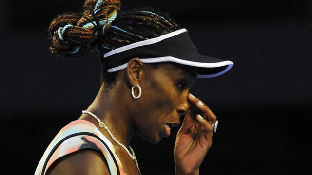 Tennis - Venus pulls out of Madrid with back problem