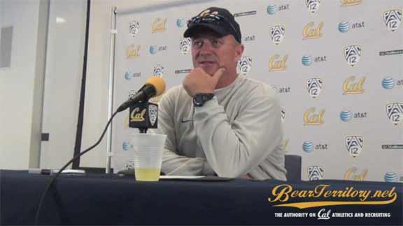 BTTV: Tedford on Tight Ends, Injuries