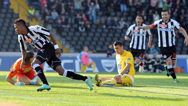 Italian Serie A - Maicosuel earns redemption as Udinese win