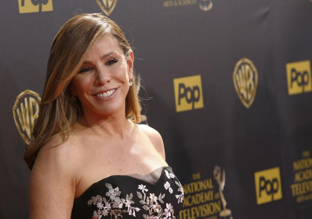 Television personality Melissa Rivers arrives at the 42nd Annual Daytime Emmy Awards in Burbank