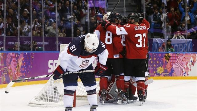 Ice Hockey - USA's bid for revenge over Canada falls flat