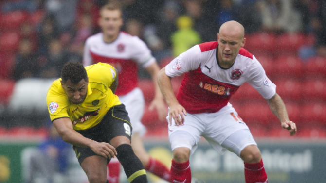 Soccer - Sky Bet Football League Two - Fleetwood Town v Burton Albion - Highbury Stadium