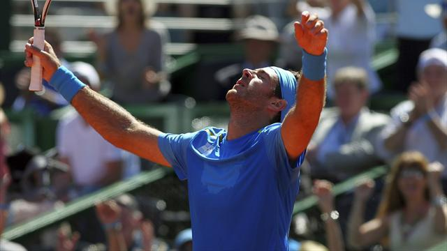 Davis Cup - Emotional Del Potro wins first point for Argentina