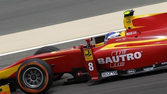 GP2 - Leimer pips Bird in practice