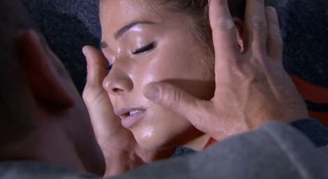 Maxine passes out at the flat, will Patrick help her?