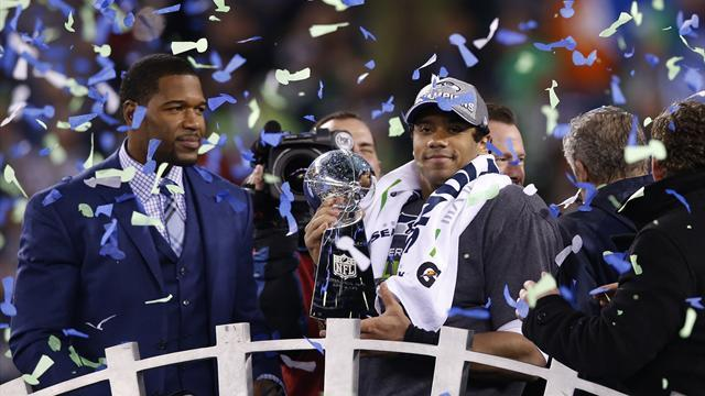 American Football - Seattle Seahawks destroy Denver Broncos to win Super Bowl