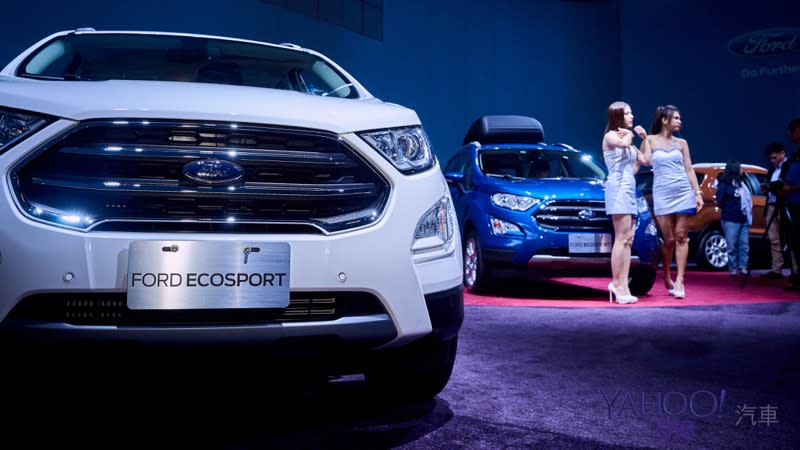 【新車圖輯】動力大提升!Ford EcoSport小改款引擎新導入69萬9起