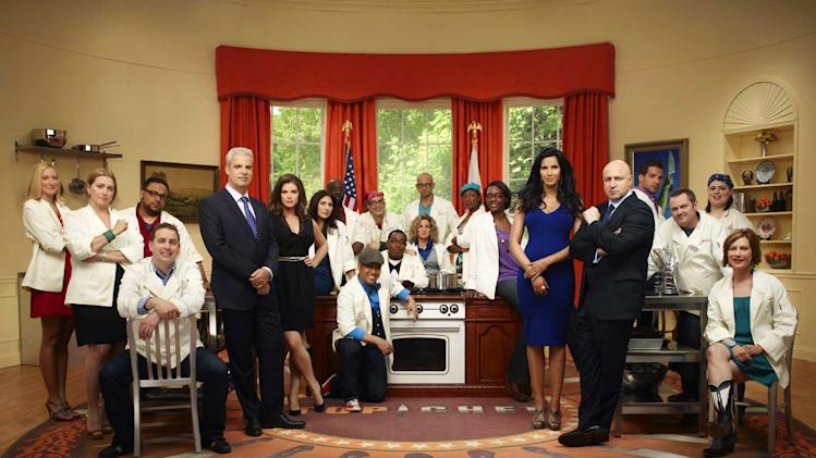 "The cast from Season 7 of ""Top Chef."""