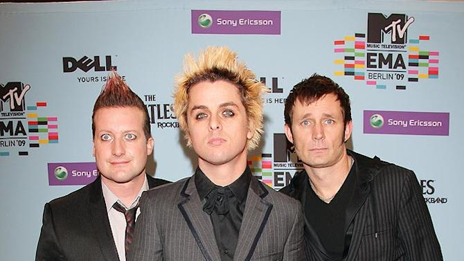 Green Day MTV Europe Aw