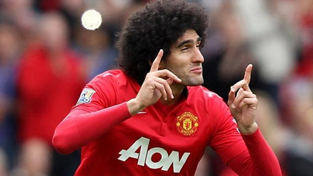 Premier League - Team news: Fellaini misses out for United