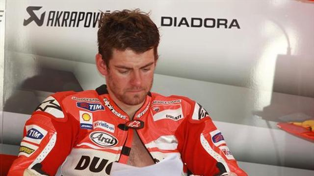 Motorcycling - Crutchlow ruled out of MotoGP Argentina