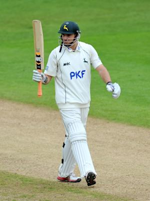 Michael Lumb scored 171 for Nottinghamshire against Sussex