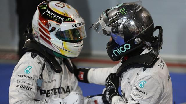 Bahrain Grand Prix - Hamilton admits battle on 'knife edge'