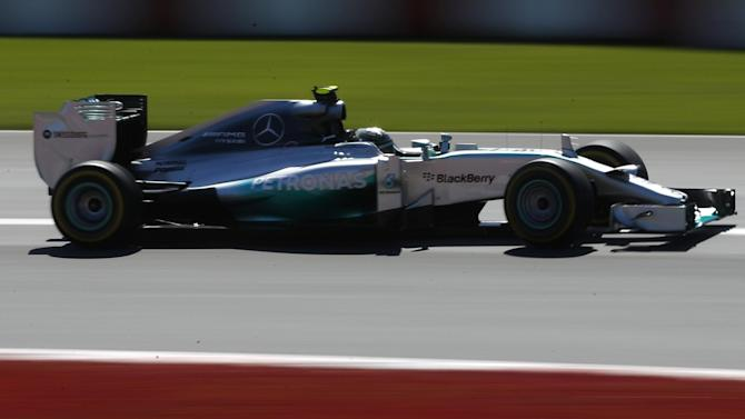 Formula 1 - Rosberg on pole for Canadian Grand Prix