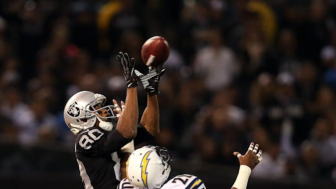 San Diego Chargers v Oakland Raiders