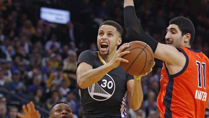 The NBA's best player thrilled again as the Warriors continued incredible home streak