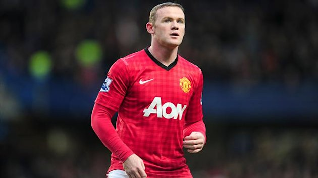 Wayne Rooney is back in training for Manchester United