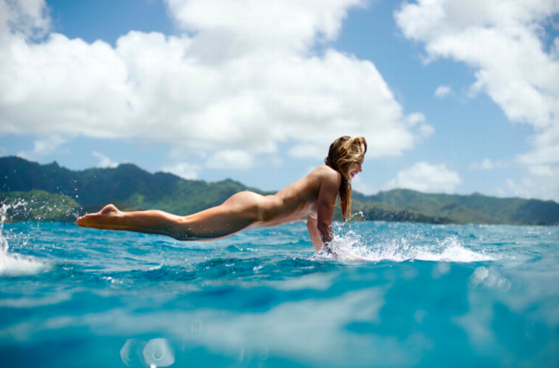Surfer Coco Ho. Foto: Morgan Maassen / ESPN the Magazine