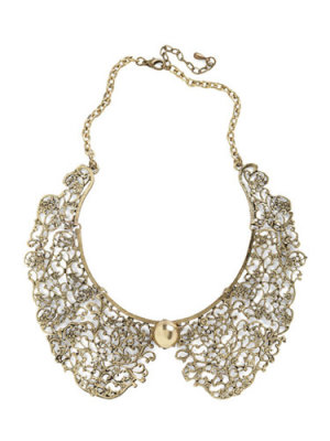 ModCloth An Ornate Fate Collar Necklace