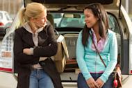 "In this film image released by Pantelion Films, Patricia Arquette, left, and Cierra Ramirez are shown in a scene from ""Girl in Progress."" (AP Photo/Pantelion Films, Bob Akester)"