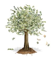 The Truth about Passive Income image money tree