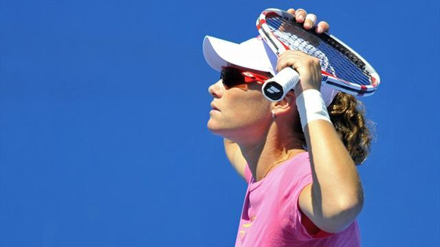 Tennis - Stosur stunned in Stanford