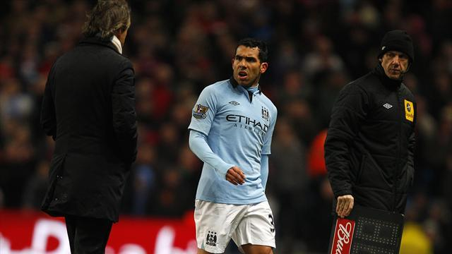 Football - Tevez exit due to injury - Platt