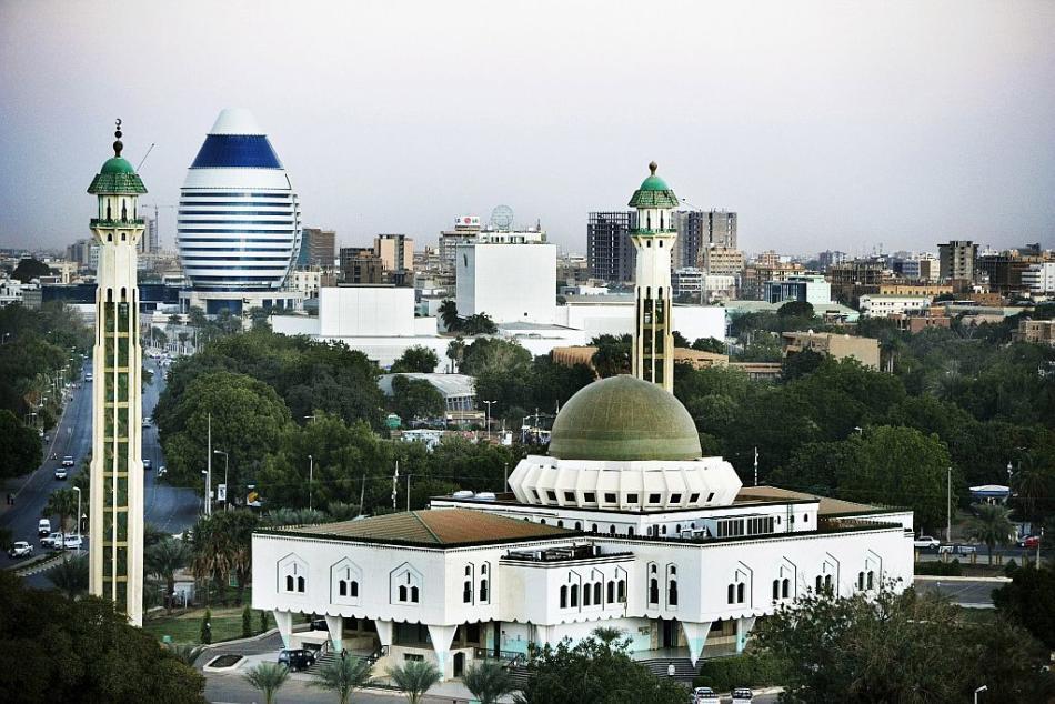 Mosque in Khartoum, Sudan