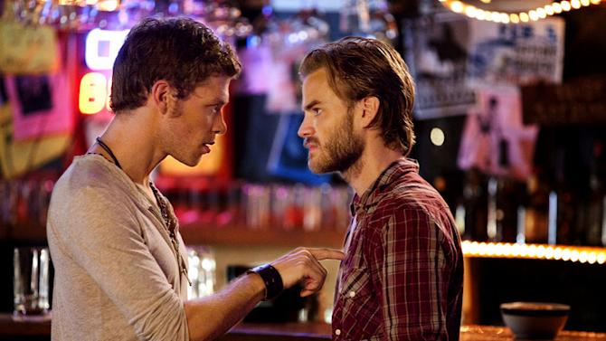 """""""THE BIRTHDAY """"--LtoR: Joseph Morgan as Klaus and David Gallagher as Ray on THE VAMPIRE DIARIES on The CW. Photo: Bob Mahoney/The CW ©2011 The CW Network. All Rights Reserved. Vampire Diaries"""