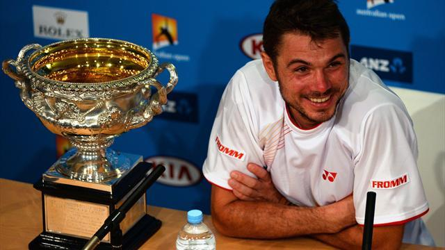 Australian Open - Wawrinka survives astonishing Nadal recovery to triumph