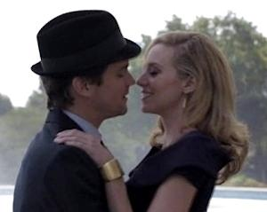 Exclusive White Collar Video: Neal and Sara Have a Flirty Interlude by a Fantastic Fountain