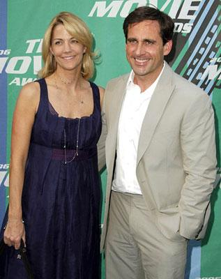 Nancy Walls and Steve Carell 2006 MTV Movie Awards - Arrivals Culver City, CA - 6/3/2006
