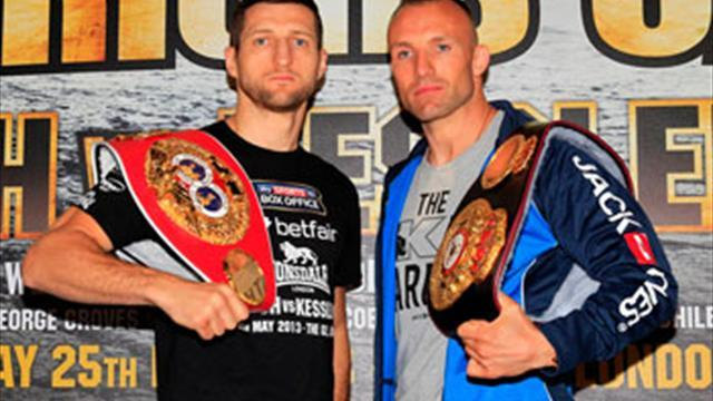 Boxing - Froch apologises for saying he will 'kill' Kessler
