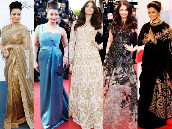Aishwarya Rai:Remember all the speculation on her visiting Cannes Film Festival 2012 soon after her daughter's delivery. When she did announce her presence, the media couldn't stop talking about what