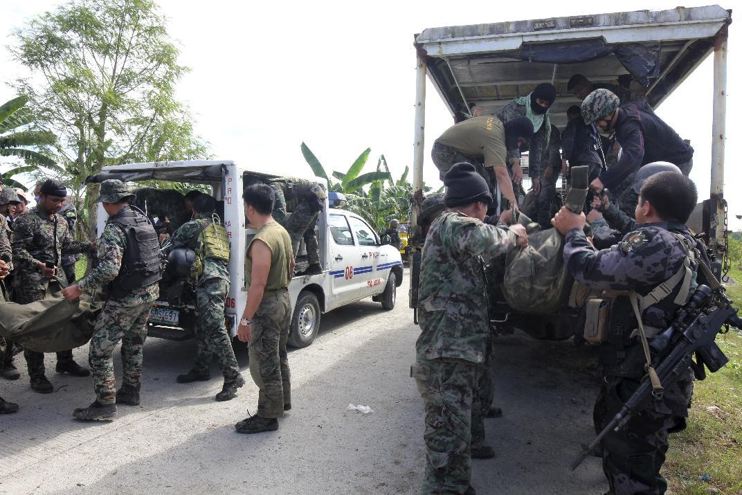 Philippine police commander fired after 44 commandos die