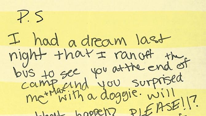 Epic Letters Home From Kids at Summer Camp