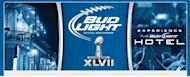 Bud Light announced that it was turning a hotel in downtown New Orleans into a hotspot for football fans
