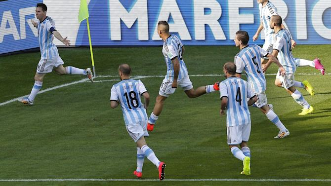 World Cup - Di Maria: Argentina were good, Iran were impossible to play