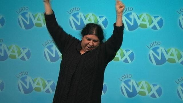 Canadian Grandmother Thrilled to Win $40K in Lottery - But It's $40 Million