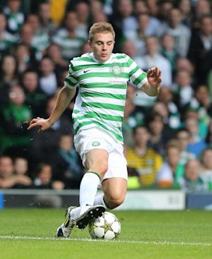 James Forrest, pictured, Adam Matthews and Charlie Mulgrew have signed new contracts at Celtic