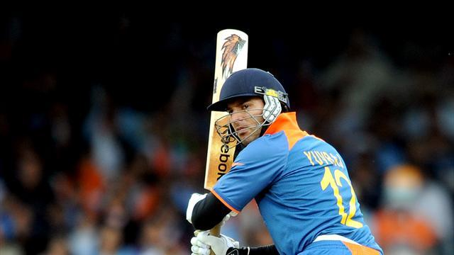 Cricket - Yuvraj stars as India nick win off Australia