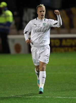 Leigh Griffiths scored twice from the penalty spot to cement the win