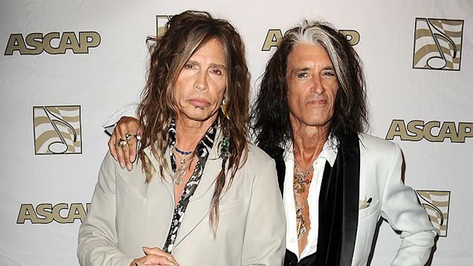 ASCAP Press Conference With Steven Tyler And Joe Perry