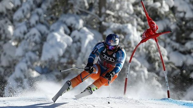 Aksel Lund Svindal at Beaver Creek (AFP)
