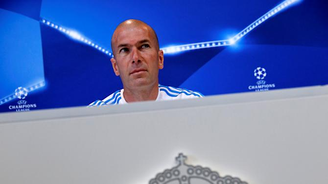 Football Soccer - Real Madrid News Conference