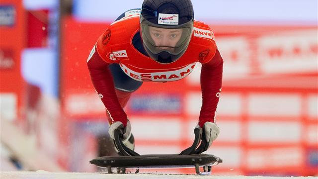 Skeleton - Yarnold crowned World Cup champion as Rudman takes home European silver