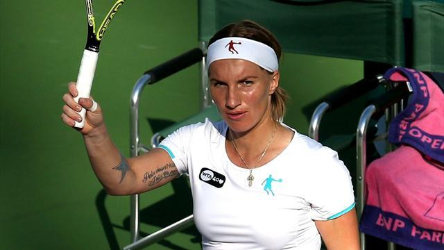 Tennis - Kuznetsova sets up Jankovic clash in Indian Wells