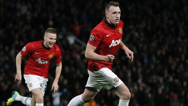 Champions League - United clinch top spot as Jones relieves pressure on Moyes